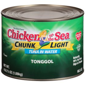 Chicken Of The Sea Tonggol Light Tuna 66.5oz.
