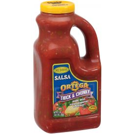 Ortega Thick and Chunky Salsa, Medium, 16 oz