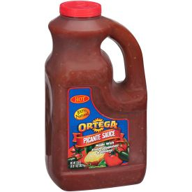 Ortega Picante Hot Sauce, 128 oz
