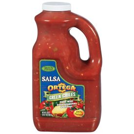 Ortega Salsa with Green Chile, 128 oz