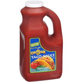 Ortega Taco Sauce, 128 oz