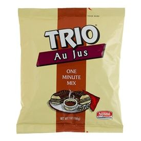 Trio Au Jus Gravy Mix, 7 oz
