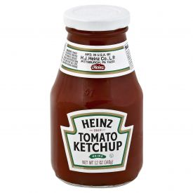 Heinz Tomato Ketchup Wide Mouth Bottle 12oz.