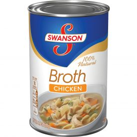 Swanson Chicken Broth - 14.5 oz. cans per case