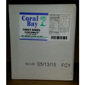 Marx Brothers Coral Bay Fancy Shred Coconut 2lb.