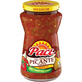 Pace Medium Picante Sauce, 8 oz