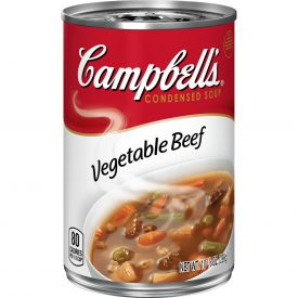 Campbell's Vegetable Beef Soup, 10.5oz