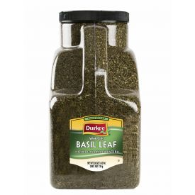 Durkee Basil Leaf, 26 oz