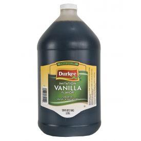 Durkee Imitation Vanilla Flavor, 128 oz