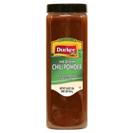 Durkee Medium Chili Powder, 16 oz