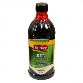 Durkee Red Food Coloring 16oz.