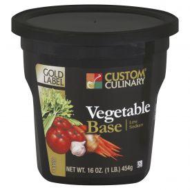 Gold Label Low Sodium Vegetable Base - 1 lb
