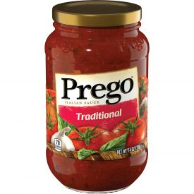 Prego Regular Spaghetti Sauce - 14 oz