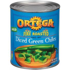Ortega Diced Green Chiles - 26oz