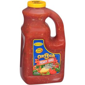 Ortega Medium Picante Sauce - 128 oz