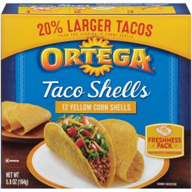 Ortega Taco Shells .48oz.