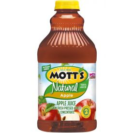 Mott's Natural Apple Juice 64oz.