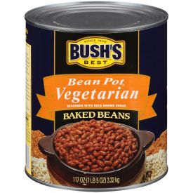 Bush's Bean Pot Vegetarian Baked Beans - 117oz