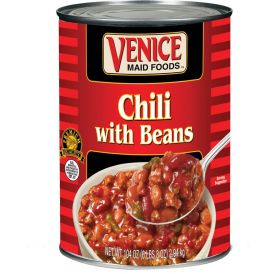 Venice Maid Chili w/Beans Deluxe Case 106oz.