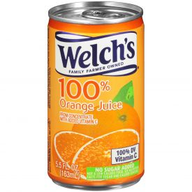 Welch's Orange Juice 5.5oz.
