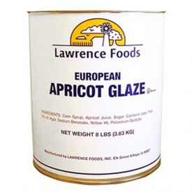 Lawrence Foods European Apricot Glaze 8lb.
