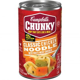 Campbell's Chunky Classic Chicken Noodle Soup, 18.6oz
