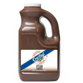 Crystal Steak Sauce - 128 oz
