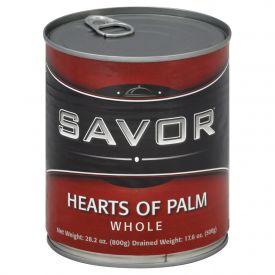 Savor Whole Palm Hearts - 28oz
