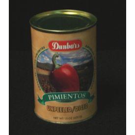 Moody Dunbar Diced Unpeeled Pimientos - 15oz
