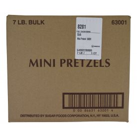 Sugar Foods Mini Pretzels - 7lb