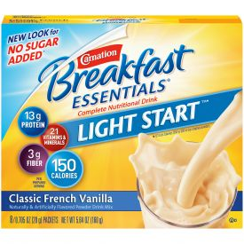 Nestle Carnation Breakfast Drink Vanilla .705oz
