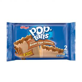 Kellogg's Frosted Brown Sugar Cinnamon Pop-Tarts 2 count 3.52oz.
