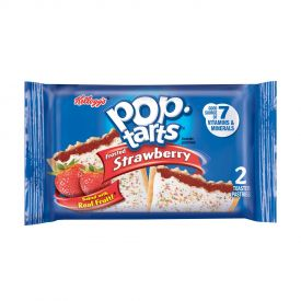 Kellogg Frosted Strawberry Pop-Tarts 2-count packs 3.67oz.
