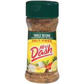 Mrs. Dash Salt Free Table Blend, 2.5 oz