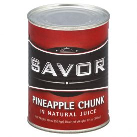 Savor Pineapple Chunk in Juice 20oz.