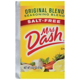 Mrs. Dash Salt Free Original Blend Packets, 0.02 oz