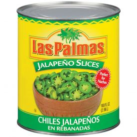 Las Palmas Sliced Jalapenos Peppers 96oz