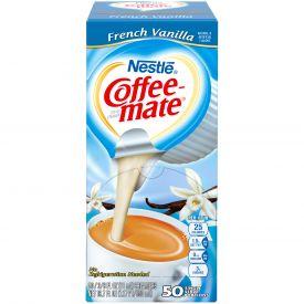 Coffee-Mate Individual French Vanilla Liquid Creamer .375oz.