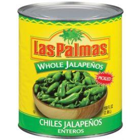 Las Palmas Whole Jalapeno Peppers - 100oz