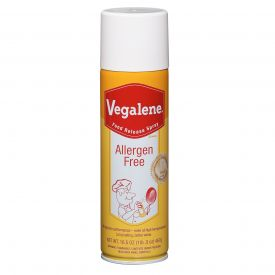 Vegalene Allergen Free Food Release Pan Spray 16.5 oz.
