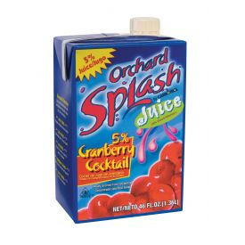 Orchard Splash Cranberry Juice 46oz.