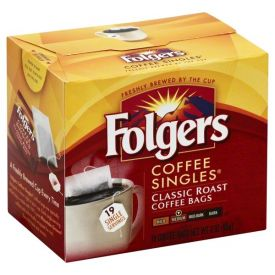Folgers Regular Coffee Singles .25oz.
