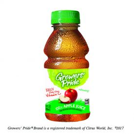 Florida's Natural Growers' Pride Apple Juice 10oz.