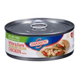 Swanson Chicken White &Dark Chunk - 4.5oz