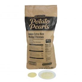 BAF Potato Pearls Golden Extra Rich Seasoned Mashed Potatoes - 50lb