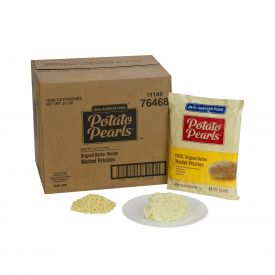 BAF Potato Pearls Golden Extra Rich Seasoned Mashed Potatoes