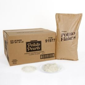 BAFLow Sodium Potato Pearl Flakes - 5lb