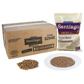Santiago Excel Refried Beans - Smooth 29.77oz.
