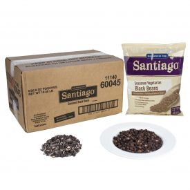 BAF Santiago Seasoned Vegetarian Black Beans - 26.9oz