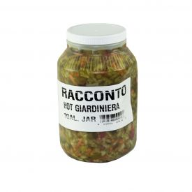 Racconto Hot Giardiniera Peppers - 128oz